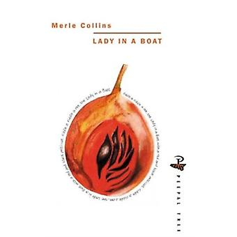 Lady in a Boat by Collins & Merle