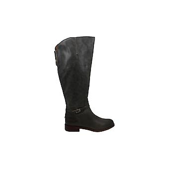 Franco Sarto Women's Shoes haylie Leather Almond Toe Knee High Fashion Boots
