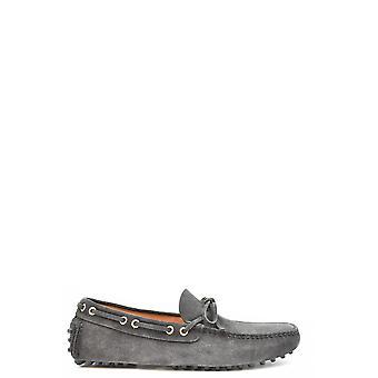 Car Shoe Ezbc029037 Men's Grey Suede Loafers