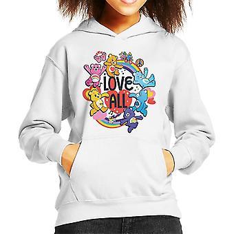 Care Bears Unlock The Magic Love All Kid's Hooded Bluza