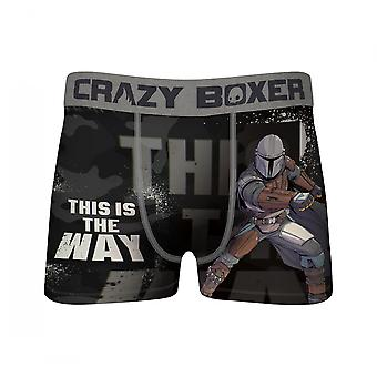 Star Wars The Mandalorian This is the Way Crazy Boxer Briefs
