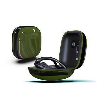 Strong and durable protective case for Beats Powerbeats Pro Green & Black