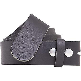Shenky 4cm Full Beef Leather Belt without Buckle