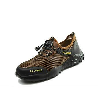Hordozható ipari cipő, defektbiztos, kopásálló biztonság, toe