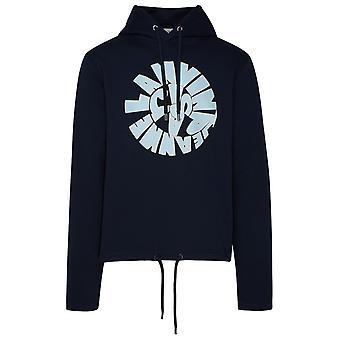 Lanvin Rmje0014jr51291 Men's Blue Cotton Sweatshirt