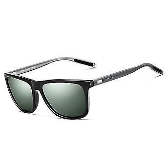 יוניסקס רטרו אלומיניום + tr90 עדשה מקוטבת וינטאג' משקפי שמש שמש/נשים