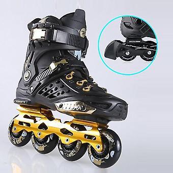 Professional Slalom Sliding Free Skating