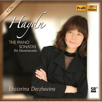 J. Haydn - Haydn: The Piano Sonatas [CD] USA import
