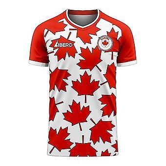 קנדה 2020-2021 ערכת כדורגל קונספט ביתי (Libero)