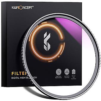 K&f Konzept 52mm UV Filter ultra schlanke Japan-Optik mehrfach beschichtetuv Schutzlinsenfilter