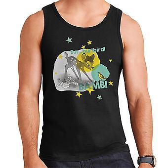 Disney Bambi Bur Bur Bird Men's Vest