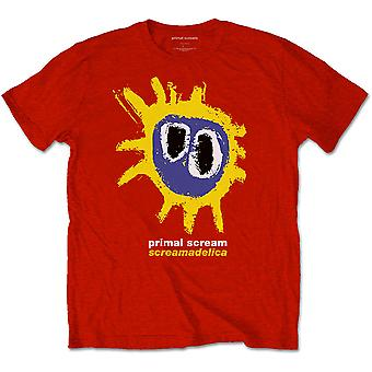 Primal Scream Screamadelica Red Official Tee T-Shirt Unisex