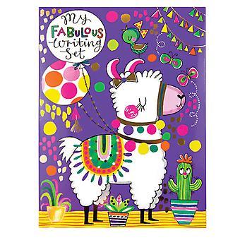 Childrens Llama skriver uppsättning