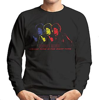 Knight Rider Knight Time Is The Right Time Men's Sweatshirt