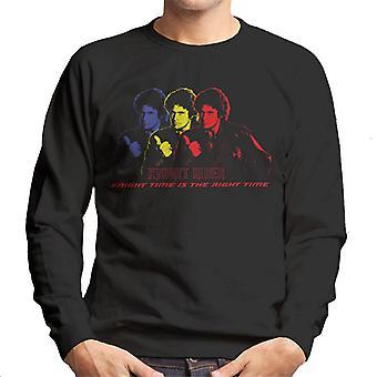Knight Rider Knight Tid är rätt tid Män's Sweatshirt
