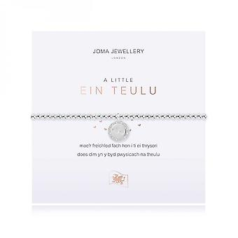Joma Jewellery A Little Our Family Silver 17.5cm Stretch Bracelet 4015