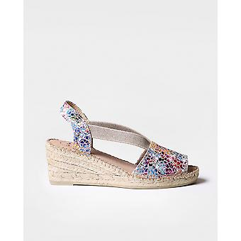 TEIDE-PM - Espadrille for woman by Toni Pons made of leather.
