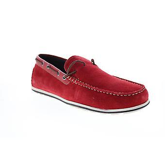 Geox U Mirvin Herren Rot Loafer & Slip Ons Mokassin Schuhe