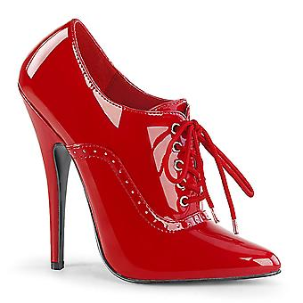 Devious Women's Shoes DOMINA-460 Red Pat