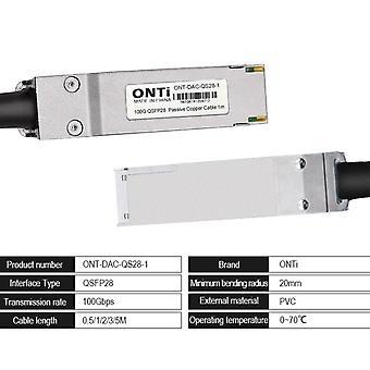 Cable Onti Dac cable pasivo directo fijar cable Twinax de cobre