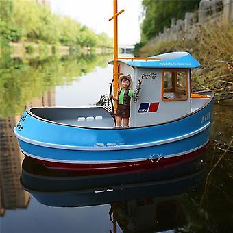 Mini Q Boat Small Sprout Tugboat Rescue Boat