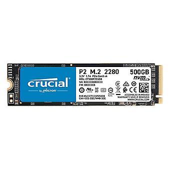 Hard Drive Crucial CT500P2SSD8 500 GB SSD M.2