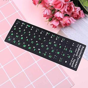 "10"" To 17"" Russian Standard Keyboard Layout Sticker"