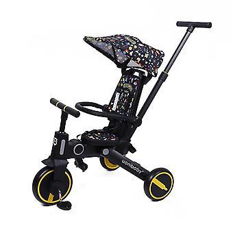 Light Stroller Car, Baby Balance Tricycle, Sliding, Artifact, Folding,