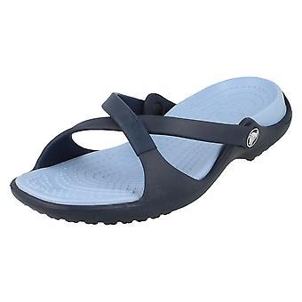 Wsuwane sandały Crocs buty damskie