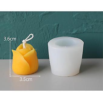 Diy Silikon Kerze 3d handgemachte Soja geformt Aromatherapie Gips Kerze