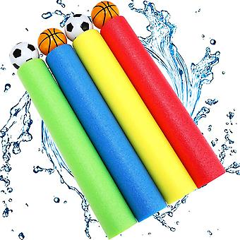 Water Gun, joylink 4PCS Water Pistol Toys Colourful Foam Water Blaster Lightweight Water Squirter