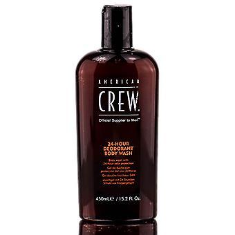 American Crew Deodorant Body Wash 24 Stunden 450 ml