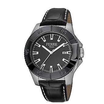 Ferre Milano Black Dial Men's Watch FM1G085L0041