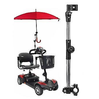 Cărucior scaun cu rotile, Bicicletă Umbrella Atașament Mâner Bar Titular - Vârstnici