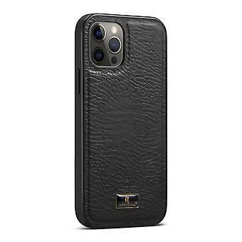 Para iPhone 12/12 Pro Caja Slim Fit Patrón de pantorrilla patrón de luz cubierta protectora
