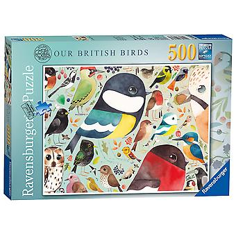 Ravensburger Puzzle I nostri uccelli britannici 500 pezzi