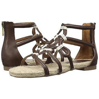 Adrienne Vittadini Womens Pablic Fabric Open Toe Beach Gladiator Sandals