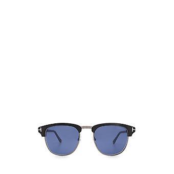 Tom Ford FT0248 óculos escuros pretos foscos