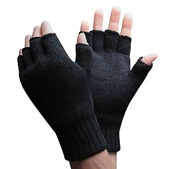 Mens 3m Thinsulate Fingerless Gloves
