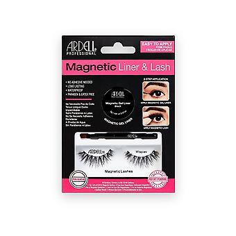 Ardell Magnetic Gel Eyeliner & Wispes Eye Lashes Kit