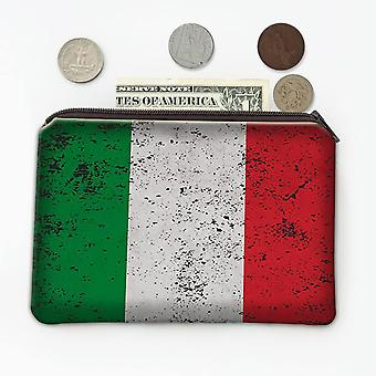 Lahjakolikon kukkaro: Italian lippu
