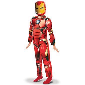 Déguisement luxe Iron Man série animée garçon