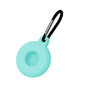 2 Stk for airtags silikon beskyttende sak anti tapt nøkkelring grønn