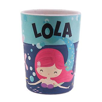 History & Heraldry Bamboo Crew Beaker Mermaid Lola