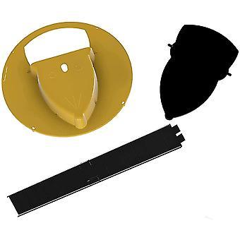 Flip N Tapa del cubo deslizante Ratón Trampa rata 11063
