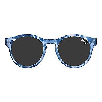 The Indian Face Bondi Sonnenbrille, Blau (Soft Tortoise with Blue), 51 Unisex-Erwachsene(1)
