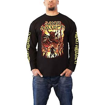 Amon Amarth T Shirt Oden Wants You Logo new Official Mens Black Long Sleeve