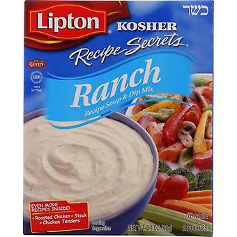 Lipton - Kosher Recipe Secret Ranch, Case of 12 X 2.4 Oz