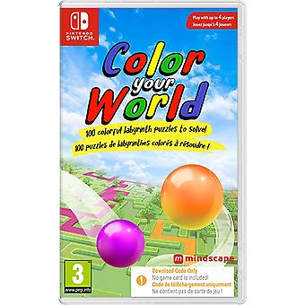 Color Your WorldNintendo Switch Game [Code in a Box]