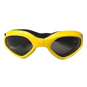 Foldable pet dog glasses goggles eye wear protection uv sunglasses